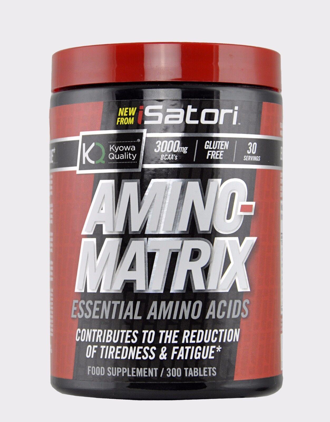 ISatori Amino Matrix Matrix Amino Aminoacidi Essenziali Vegan 300cps b678b6