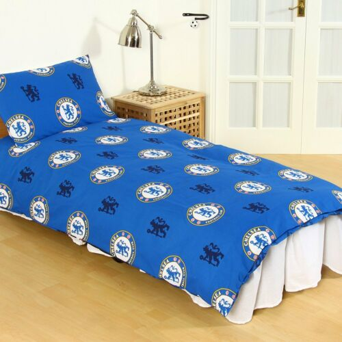 Chelsea FC Pulse Reversible Single Duvet Quilt Cover and Pillowcase Set