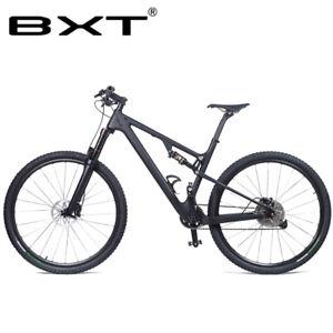 Carbon Fiber Frame Bikes For Sale Ebay >> New Mountain Bike Frame 29er Carbon Fiber Mtb Bicycle Suspension
