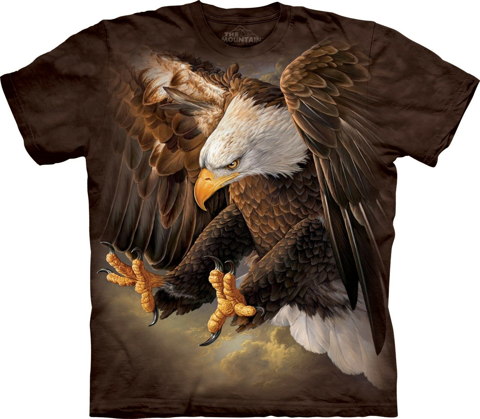 Freedom Eagle T Shirt Adult Unisex The Mountain