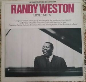 1976-JAZZ-FUSION-RANDY-WESTON-LITTLE-NILES-2xLP-BLUE-NOTE-LA598-H2-EX