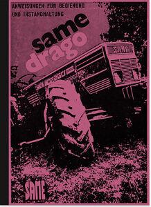 Same-Drago-Dieselschlepper-Bedienungsanleitung-Betriebsanleitung-Handbuch-Manual