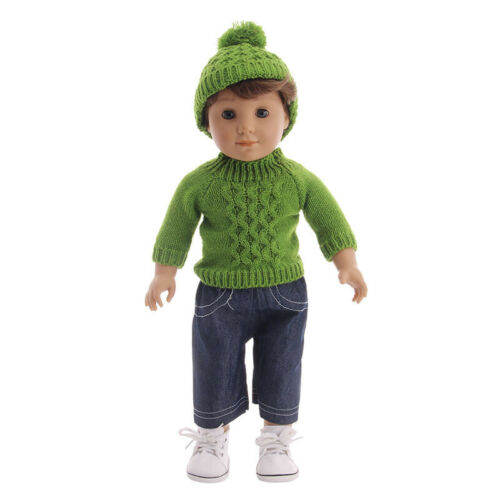 "Hot Handmade Accessories Fits 18/"" Inch American Girl Doll Clothes Sweater+pants"