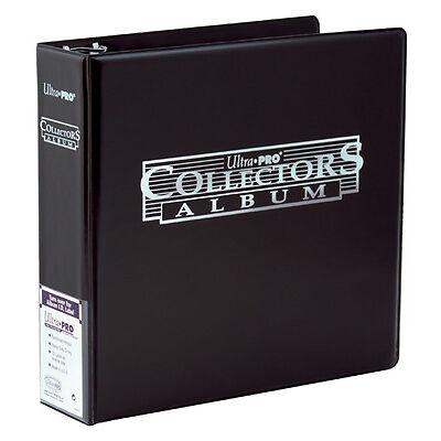Ultra Pro 3 Ring BLACK Collector Album Binder Folder Pokemon MTG AFL Yugioh
