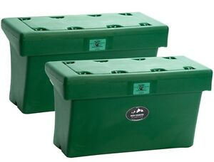 Bear-Proof-Horse-Pack-Panniers-GREEN-High-Country-Plastics-2-included-Panier-Box