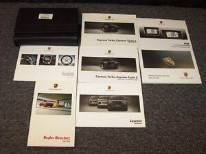 2009 porsche cayenne turbo s suv owner owner s operator manual set rh ebay com 2009 porsche cayenne owners manual pdf 2009 porsche cayenne user manual
