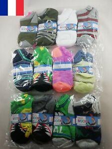 3-X-Paire-de-Chaussettes-pour-Enfant-Pointure-17-22-Divers-Motifs-Au-Choix