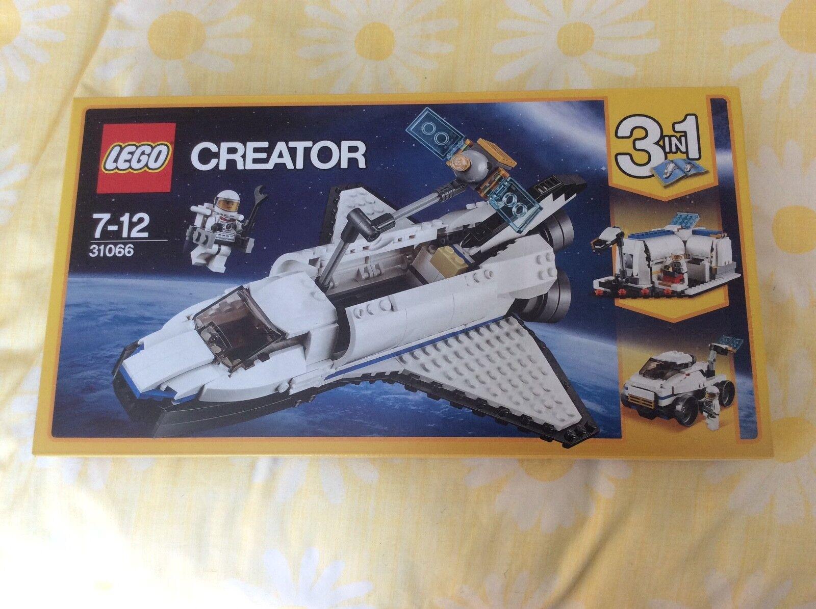 Lego Creator Space Shuttle Explorer 31066 Brand New & Sealed