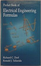 Pocket Book of Electrical Engineering Formulas by Dorf & Tallarida 1993 NEW