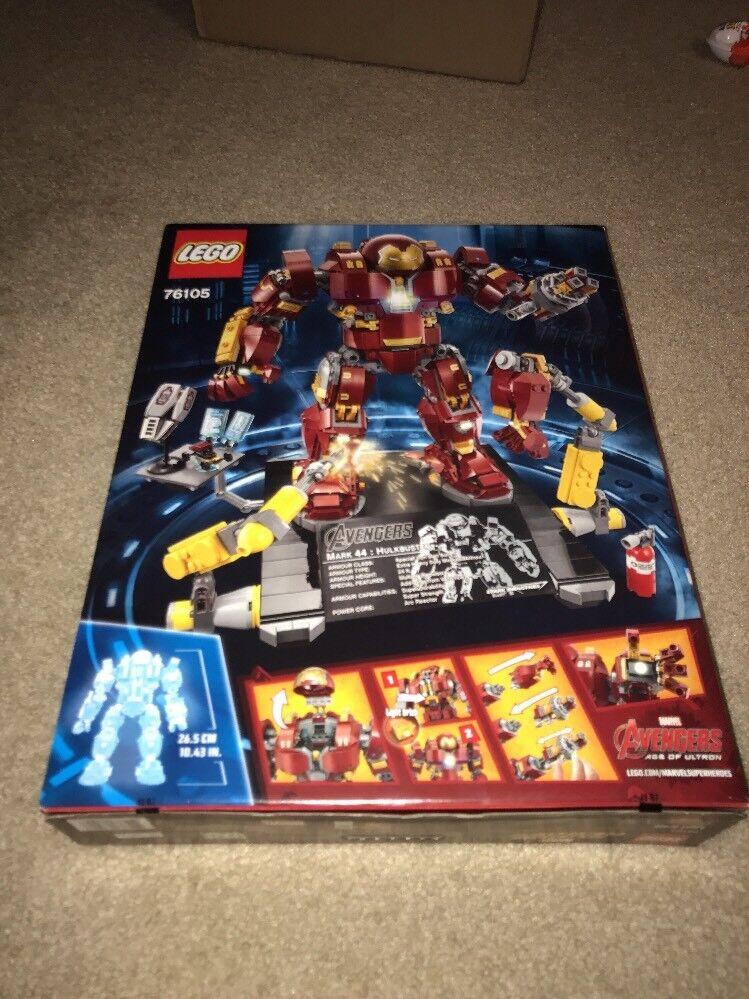 LEGO UCS förundras SUPER HEROES 76105 HULK bussTOR UTrödNING