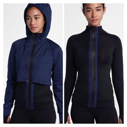 Binary Rrp Black Jacket Medium Shield Therma 00 Training Nike £170 2in1 Blue 7wYUzBq