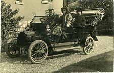 RA830 Early RP POSTCARD De Dion Bouton Vintage Car