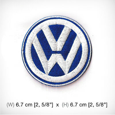 New Volkswagen Embroidered Patch Iron on, sew, Motor Sports Top Speed Car Racing