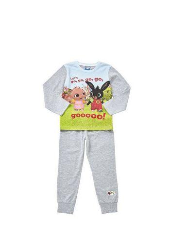 Boys Bing Bunny Pyjamas  Cotton Pyjama Set  1-7 Years
