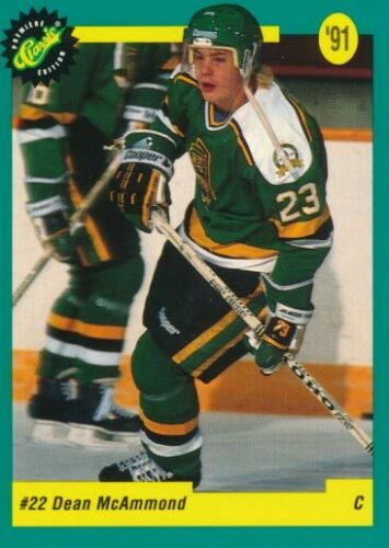 1991 Classic French #19 Dean McAmmond-Prince Albert Raiders
