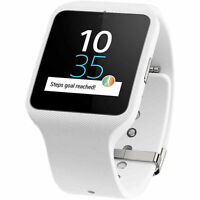 Sony Smartwatch 3 Swr50 Androidwear Gps Sports Fitness Activity Tracker White
