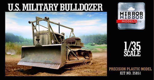 Mirror Models 1 35 US Caterpillar D7 Tractor