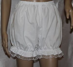 Victorian-Edwardian-Bloomers-With-Lace-Trim-Fancy-Dress-Sissy-Knickers