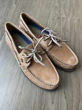 Sperry Top-Sider Men/'s Leeward 2-Eye Two Tone Tan Boat Shoe NW//OB