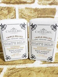 2-Bars-Castelbel-Triple-Milled-Goat-s-Milk-Rosemary-Fragranced-Soap-10-5-Oz-Ea