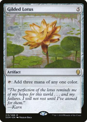 Gilded Lotus Dominaria rare en Presque comme neuf MTG