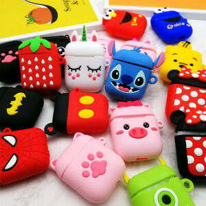 Airpods 3d Cute Cartoon Silicone Case Cover Protective For Apple