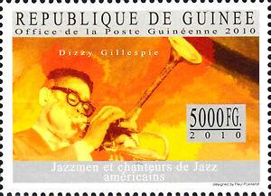 Guinea postfrisch MNH Dizzy Gillespie Usa Sänger Musiker Jazz Musik Komponist