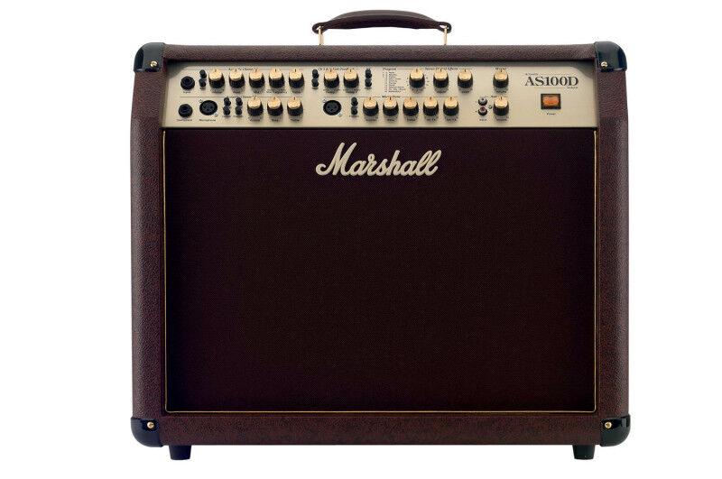 Marshall as-100 d d d soloist - 4 canal digital efecto sección f0a682