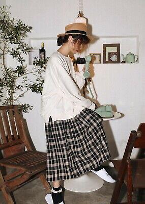 Jupe ample volants Mori shabby chic retro vintage Japon cawaii boheme