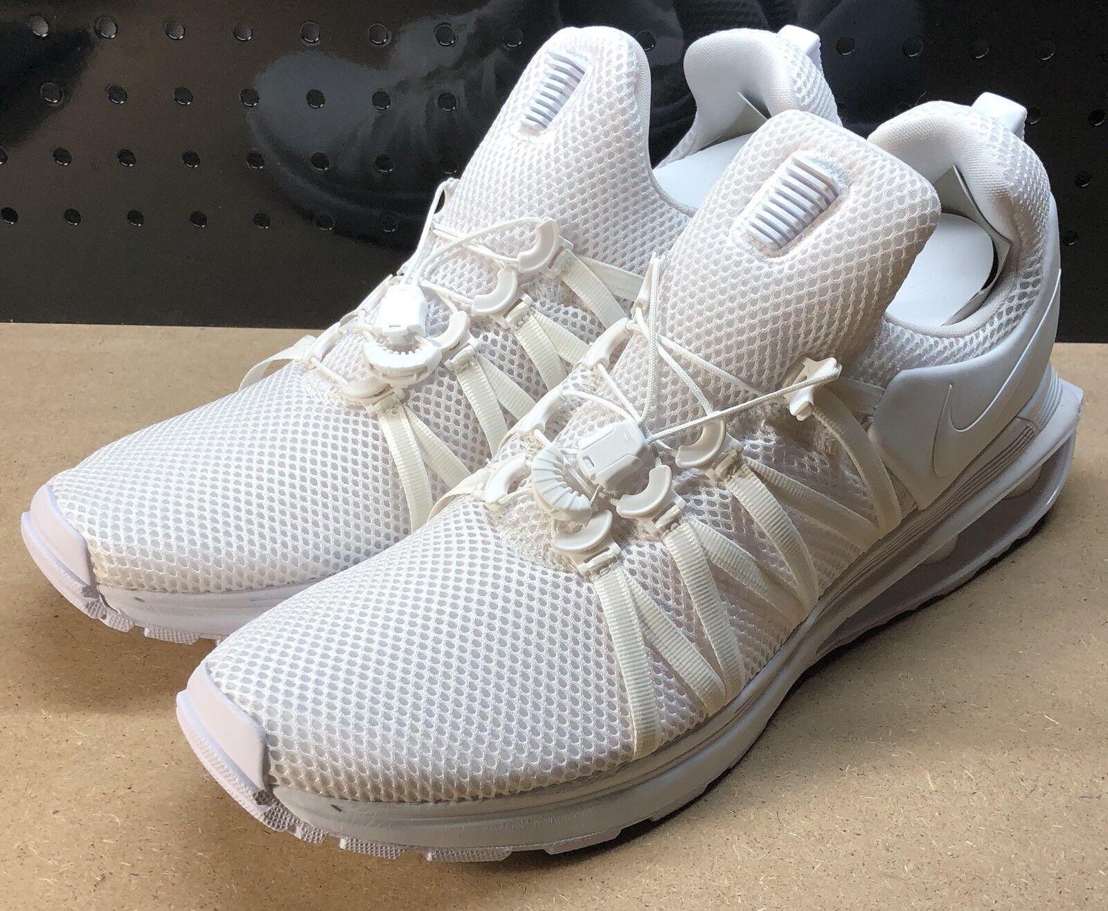 designer fashion 5e26b 4d734 Nike Shox zapatos corrientes de los hombres de de de gravedad blanco cómodo  el último descuento