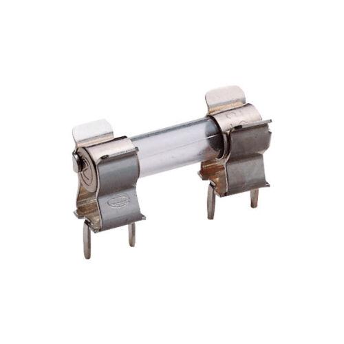 ESKA 120.800 H Fusible Clip para fusibles 5x20mm 6.3 A