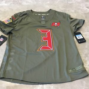 6505ea7c6 Women s Tampa Bay Buccaneers Winston Nike Olive Salute to Service ...