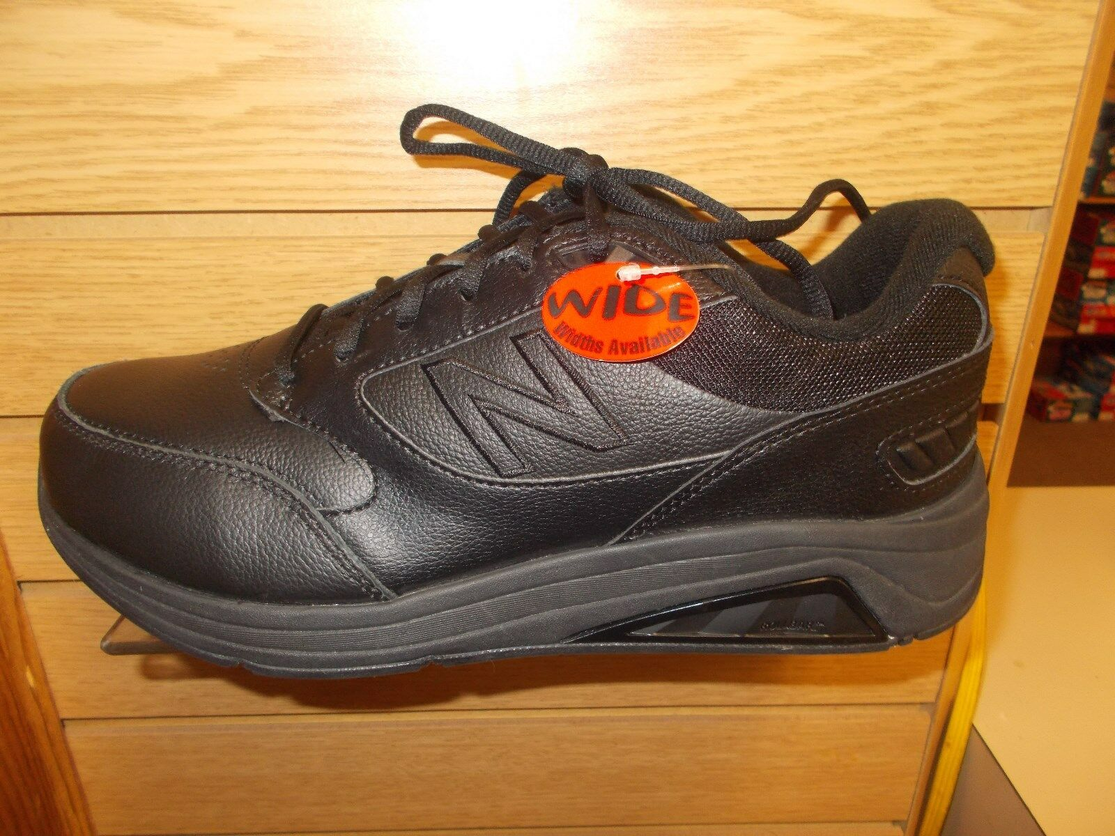 NEW BALANCE MEN'S MW 928BK3 BLACK WALKING SHOES EXTRA EXTRA WIDE 6 E WIDTH