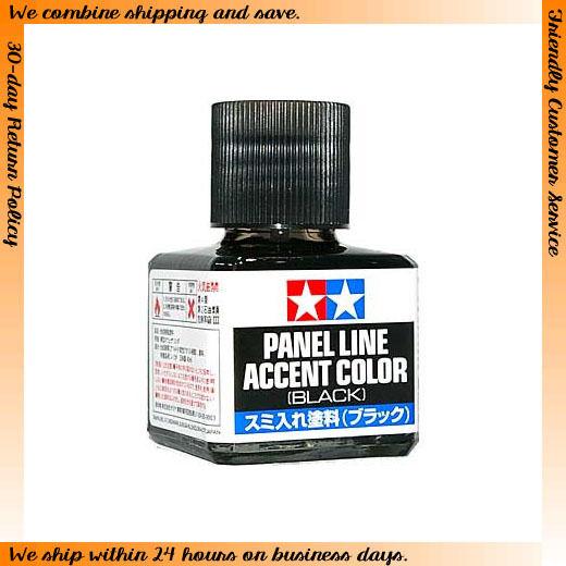 Tamiya #87131 Panel Line Accent Colour - Black (40ml)
