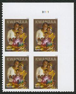 #5337 Kwanzaa, Placa Bloque [B1111 Ur ], Nuevo Cualquier 5=