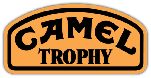 9/'/' 12/'/' or 14/'/' Camel Trophy Car Bumper Sticker Decal