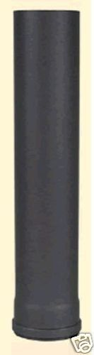Conducto de Estufa para Pellet Tubo Horno Pieza 1500mm Ø 80mm 1,2mm Fuerte