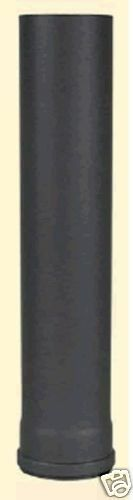 Tubo de Estufa pelletofenrohr Pellet pieza de 1500 mm Ø 80 1,2mm fuerte