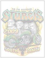 Sturgis Note Pad. South Dakota. Harley Davidson. Magnetic Back