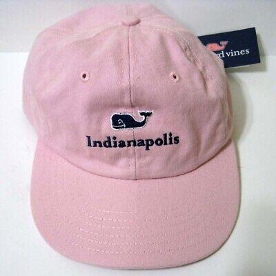 Vineyard Vines Front Whale Logo EMB Solid Baseball Hat Cap $28 NT Navy Moonshine
