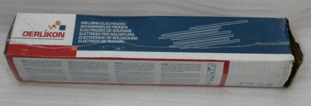 125 Pieza Oerlikon Electrodos de Soldadura Especial 4.1kg 2h / 300°-350° C Max