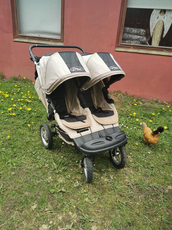 Klapvogn, Baby Jogger City elite, tvillingevogn