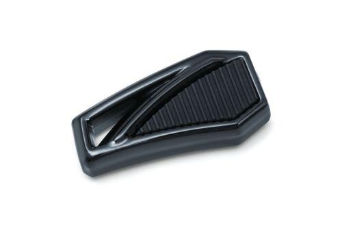 Kuryakyn 5791 Gloss Black Aluminum Phantom Shift Peg EPDM Harley Davidson