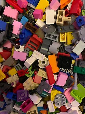 LEGO 500 Piece Good Mix Of Small Bricks Cone Parts /& Pieces Bag Bundle Plate