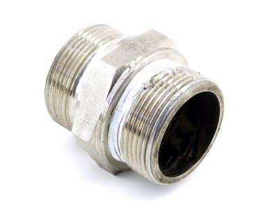 Rohr-adapter-pug Sanitär Sw55 Stahl-verbinder M48 Schraub-anschluss Innen-Ø 38mm Dauerhafter Service