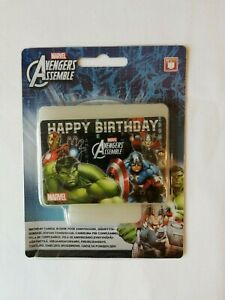 Marvel-AVENGERS-Birthday-CANDLE-CLEARANCE-PRICES