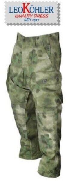 LEO KÖHLER KSK Einsatzkampfhose A-TACS FG German Army Military pants XL / XLARGE