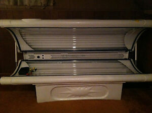 """sunmaster tanning bed 24 bulbs 34"""" wide84"""" long, best tan ever"""