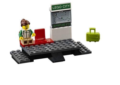 LEGO® City Eisenbahn Set 60205 Set 60238 60197 Bahnhof Bahnsteig