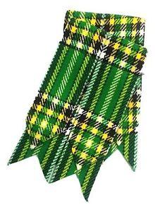 Men's Scottish Kilt Flashes National Irish Tartan/Irish Tartan Kilt Sock Flashes